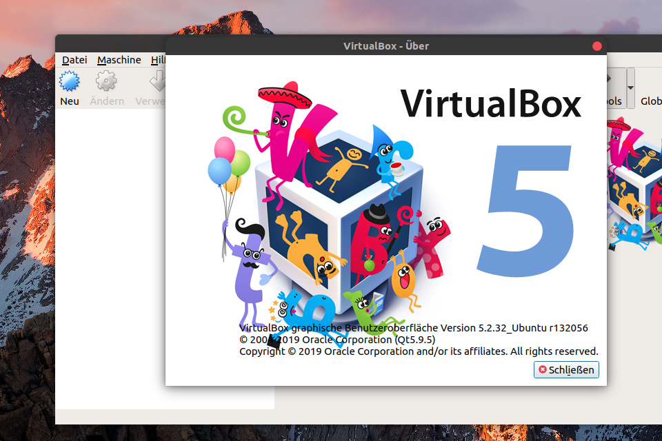 CryptUSB Features: VirtualBox
