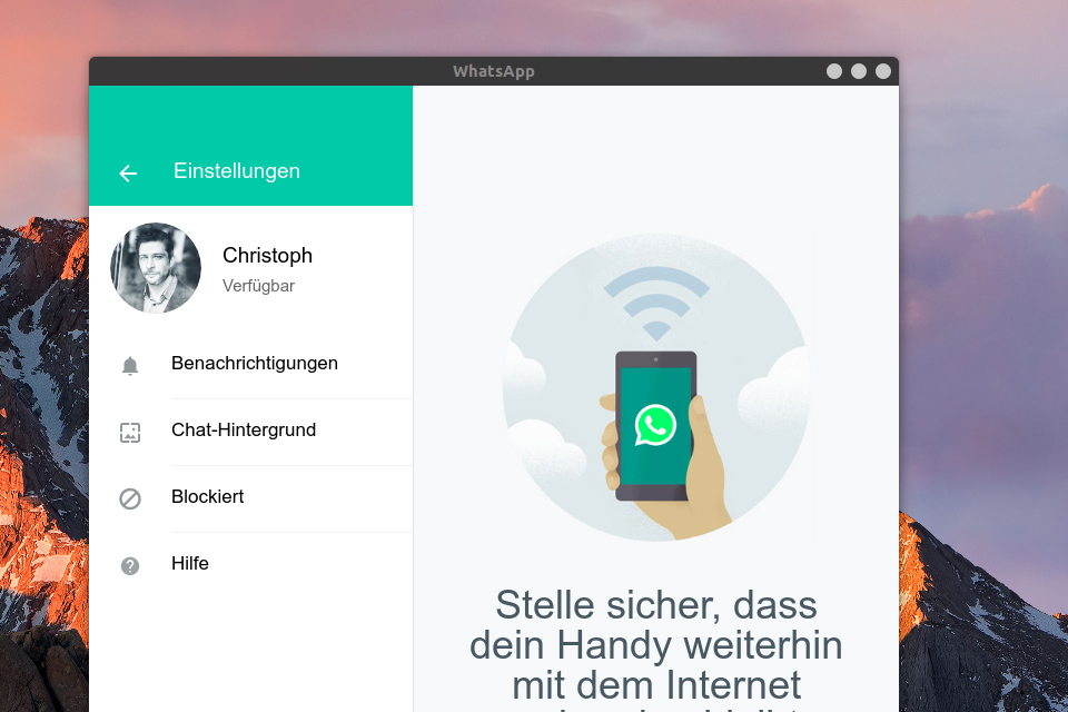 CryptUSB Features: WhatsApp Messanger